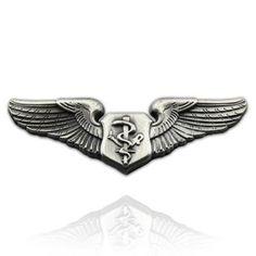 U.S. Air Force Flight Nurse Wing Pin . $5.45