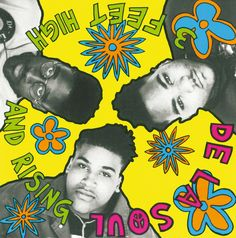 De La Soul.  This was my go-to music when writing a paper in college.  Totally chill vibe.