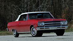 1965 Chevrolet Malibu SS HP, presented as lot at Kissimmee, FL 2016 - Chevrolet Malibu, Chevrolet Chevelle, Red Interiors, Convertible, Classic Cars, Auction, Trucks, Deep, Business