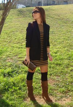 Over the knee #fashion #style