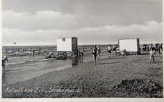 Strandleven Katwijk in vroegere jaren