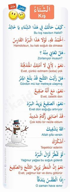 Learn Turkish Language, Arabic Language, Turkish Lessons, Language Quotes, Learning Arabic, Arabic Words, English Vocabulary, Study, Learn Spanish