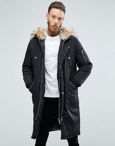 09be3d52 Get this Asos's fur coat now! Click for more details. Worldwide shipping.  ASOS