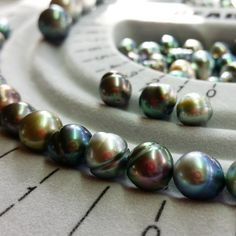Colors fresh from the farm. First thing I'm thinking is bracelets . Tahitian Black Pearls, Pearl Jewelry, Birthstones, Fresh, Colors, Bracelets, Instagram Posts, Pandora, Handmade