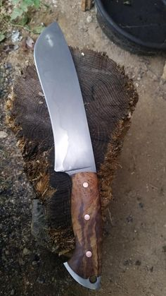 Custom choppers/camp knives
