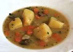 Bramborová polévka Soup, Recipes, Food Recipes, Soups, Rezepte, Recipe, Cooking Recipes, Chowder