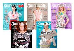 Ideas. TRENDS. CRAFTS. SelfMADE.  mallistot2014paakuva Suuri Käsityö kerho magazine and internet. Like.
