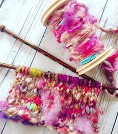 Handspun yarn - Spun Sugar: