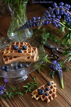 Gofry chrupiące przepis - Zen w kuchni