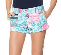 Lilly Pulitzer Walsh Printed Short in Multi Osterville Patch