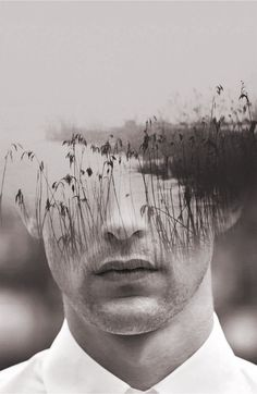 Hypnotic Fusion of Portraits by Antonio Mora - love this effect of multiple exposures