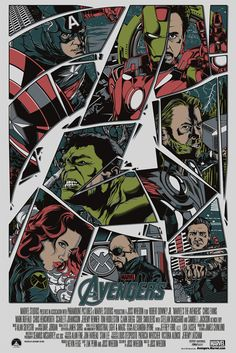 Artists Pay Tribute to The Avengers - My Modern Metropolis