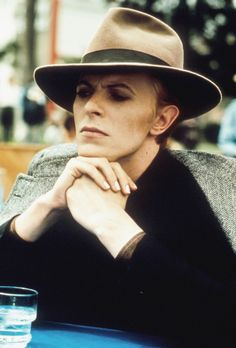 "David Bowie in ""The Man Who Fell to Earth"" directed by Nicolas Roeg."