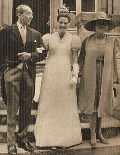 princesse Chantal de Orleans, jour de sun mairiage con Baron Francois Xavier de Samby de Sorgue. le jour de son mariage avec le baron Francois Xavier se Sambucy de Sorgue