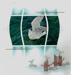 Auteur: Yvette Jouêtre Univers: Scrap Niveau: Expert Theme:  Voyage Nature Animaux Gabarit:  Duo Maldives