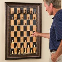 Unusual chess set ~ Stand-Up