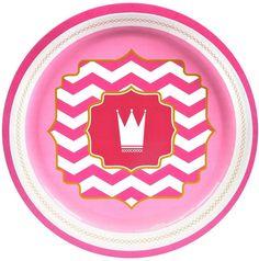 pink! dinner plates [set of 8] Case of 10