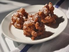 """Apple Fritters 