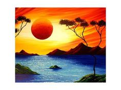 Art Print: Divine Beauty Wall Art by Megan Aroon Duncanson by Megan Aroon Duncanson : 24x18in