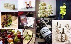 Wine-themed Wedding