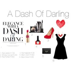 """""""A Dash Of Darling"""" by carly-desantis on Polyvore"""
