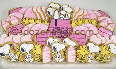 SNOOPY Cookie Platter