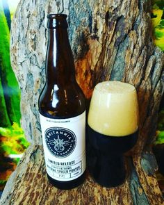 """From Britannia Brewing Company in Richmond comes their """"Forty Fathoms Imperial Spiced Porter"""". For the full review click on the link below.   https://wp.me/p2vssO-eBQ"""