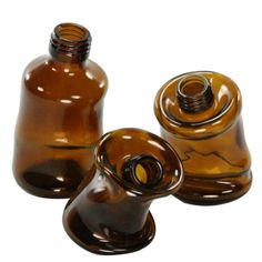 HomArt Slumped Glass Bottle glass bottle crafts HomArt Slumped Glass Bottle - Assorted - Brown - Set of 12 Recycled Bottles, Recycled Glass, Plastic Bottles, Glass Bottle Crafts, Wine Bottle Art, Slumped Glass, Fused Glass, Brown Glass Bottles, Wine Glass