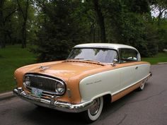 1955 Nash Ambassador Custom Country Club Lemans Edition Hardtop Coupe