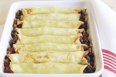 Looking for an interesting things to do with mince? Try these savoury crepes for a tasty dinner.