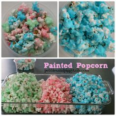 Pebbles and Piggytails: Sugar popcorn treat that's quick and fun for a large group.