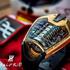 What a great way to end the week with the #Hublot MP-05 Gold #laferrari limited to 20 pieces world wide. With a unique 50 day power reserve its a beauty.  (:@hublot_galerie) cc.@watchanish  #SydneyWatchBlogger #blogger #gold #watch #tourbillon #ferrari #watchporn #watchgame #wristgame #wristporn #entrepreneur #fashion #luxury #love #passion #class #mylife #follow #watchesofinstagram #business #watchanish #instamood #instalike #instadaily #money #motivation #businessman #classic by…
