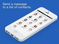 Contact #list management - dexem connect