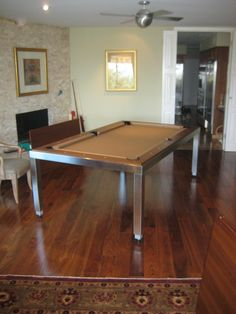 Fusion Pool Table Setup   Out Of The Box