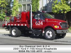 Chicago Fire Dept - 624 - Dry Chemical Unit