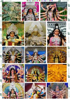 all of the top most durga at berhampore 2014