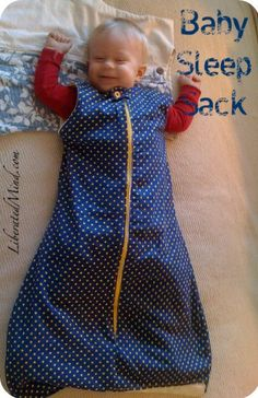 Another baby sleep sack pattern, this time with lining. But not the clearest instructions.