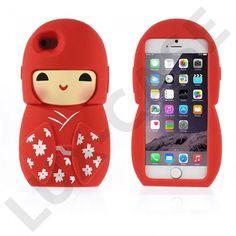 Hai! (Punainen) iPhone 6 Suojakuori