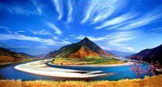 The First Bend of Yangtze River is located at Shigu (Stone Drum) Town, 44 miles outside of Lijiang…