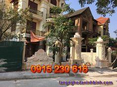 Cổng đá đẹp ở Tuyên Quang - Mẫu cổng đá Làng nghề đá Ninh Bình