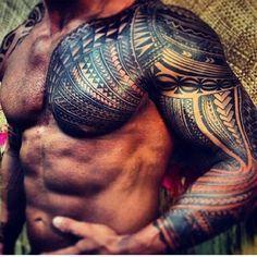 Home - Tattoo Spirit Badass Tattoos, Body Art Tattoos, New Tattoos, Sleeve Tattoos, Tattoos For Guys, Cool Tattoos, Tatau Tattoo, Ta Moko Tattoo, Island Tattoo