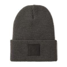 Black Square Cap in Gray – machus
