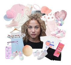 """""""2.08: Coralee Binx"""" by cartoonvillian ❤ liked on Polyvore featuring UNIF, MoMo, Theory, J.Crew, Tony Moly, Warehouse, L K, Nly Shoes and adidas Originals"""