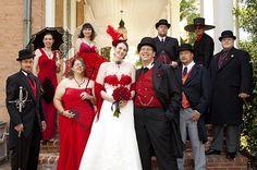 Offbeat Bride steampunk wedding