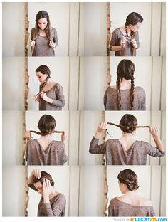 Simple Braided hairstyle for bead head