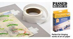 Lineco Hayaku Archival Paper Hinging Tape