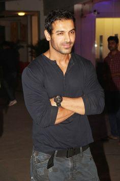 Bollywood star John Abraham Special screening of 'Madras Cafe'