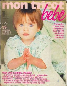 Revista Mont Tricot Bebê 59 Receitas de Tricô e Crochê - Receita Tricô Fácil