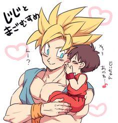 Goku and Pan.