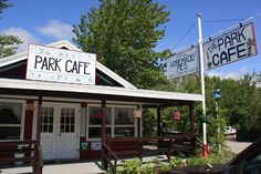 Park Cafe near St. Mary's Campground - Glacier National Park - Best meals and PIES around!!
